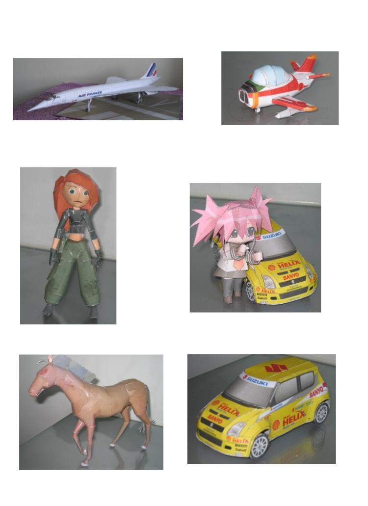 paper models examples