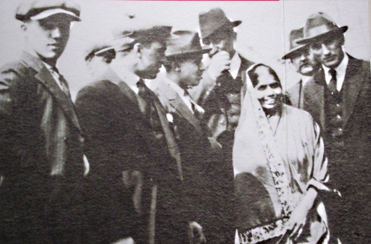 parvatibai at labour conference in new york